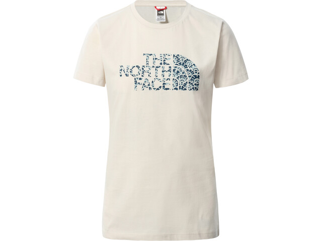 The North Face Easy SS Tee Women, vintage white/monterey blue ashbury floral print